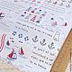 Шитье ручной работы. Ткань Морская. Natalie. Интернет-магазин Ярмарка Мастеров. Пэчворк, альбом, материалы, ткань