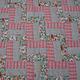 Текстиль, ковры ручной работы. Цветочный зигзаг. ВОЛШЕБНЫЙ ЛОСКУТОК (Zino). Ярмарка Мастеров. Лоскутное одеяло, покрывало пэчворк