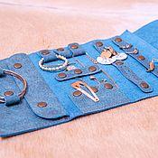 Сумки и аксессуары handmade. Livemaster - original item Case for jewelry made of genuine leather