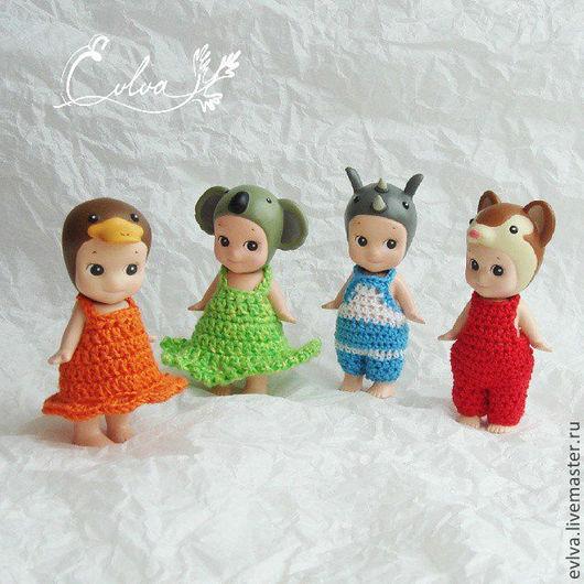 Одежда для кукол ручной работы. Ярмарка Мастеров - ручная работа. Купить Одежда Sonny Angel. Handmade. Комбинезон, пупс, крючком