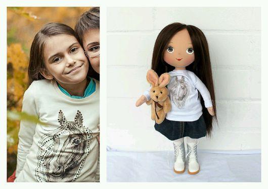 Портретные куклы ручной работы. Ярмарка Мастеров - ручная работа. Купить Портретная кукла ручной работы. Handmade. Кукла по фото