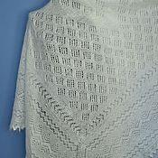 Аксессуары handmade. Livemaster - original item 155 the Orenburg downy shawl delicate, a gift on March 8. Handmade.
