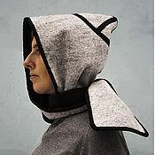 Аксессуары handmade. Livemaster - original item Hood-hood