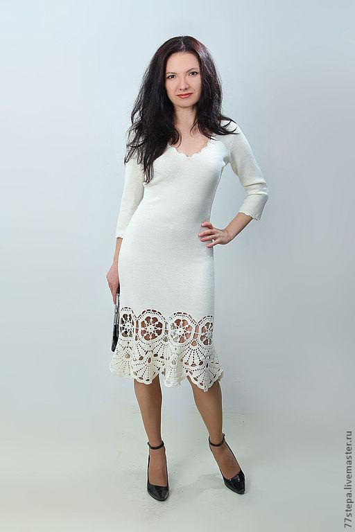 Платья ручной работы. Ярмарка Мастеров - ручная работа. Купить Платье вязаное 4474. Handmade. Платье, платье крючком