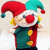 Куклы и игрушки ручной работы. Ярмарка Мастеров - ручная работа Скоморох ,петрушка ,игрушка для кукольного театра. Handmade.