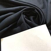 """Материалы для творчества handmade. Livemaster - original item Лен облегченный костюмный 100% """" Темно синий,черно-синий"""". Handmade."""