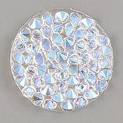 Материалы для творчества ручной работы. Ярмарка Мастеров - ручная работа Crystal Rocks  Crystall Shimmer on white Кристал Рокс. Handmade.