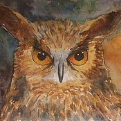 Картины и панно ручной работы. Ярмарка Мастеров - ручная работа И снова птицы - ФИЛИН. Handmade.