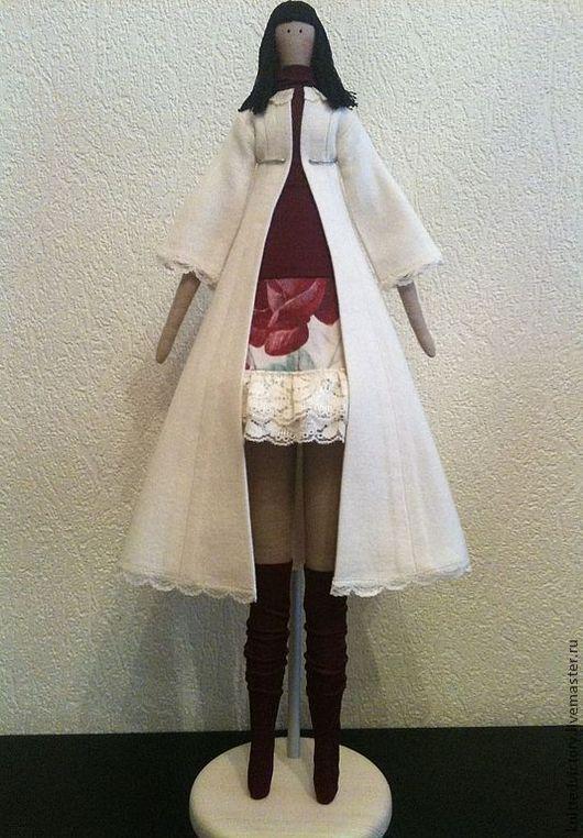 Куклы Тильды ручной работы. Ярмарка Мастеров - ручная работа. Купить Ангел осени. Handmade. Белый, кукла ручной работы