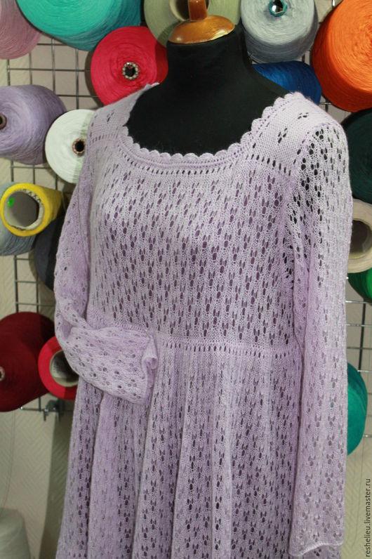 Платья ручной работы. Ярмарка Мастеров - ручная работа. Купить Платье вязаное №7 из 30% итальянского мохера. Handmade.