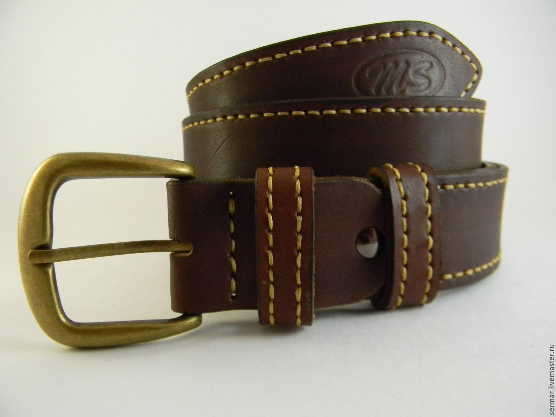 Купить кожаный ремень для мужчин заказ часов на кожаном ремне