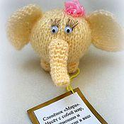 Куклы и игрушки ручной работы. Ярмарка Мастеров - ручная работа Слоник на Удачу. Handmade.