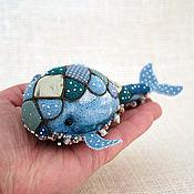 Куклы и игрушки ручной работы. Ярмарка Мастеров - ручная работа Синий кит. Handmade.