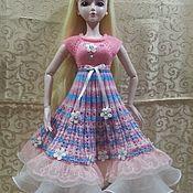 """Одежда для кукол ручной работы. Ярмарка Мастеров - ручная работа Платье """"Аленушка"""" (единственный экземпляр). Handmade."""