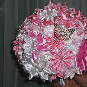 Свадебный салон ручной работы. Ярмарка Мастеров - ручная работа Розовый свадебный букет. Handmade.