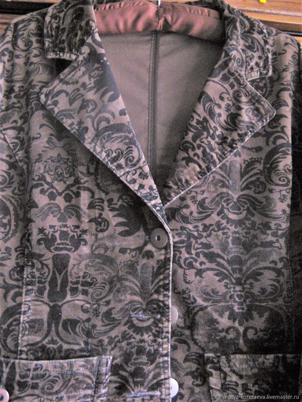 Винтаж: Старый, бархатный пиджак.) Для аппетитной) леди) Винтаж, Одежда винтажная, Кёнигсберг,  Фото №1