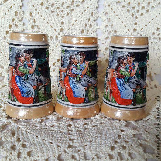 Винтажная посуда. Ярмарка Мастеров - ручная работа. Купить Немецкие кружки. Handmade. Комбинированный, керамика