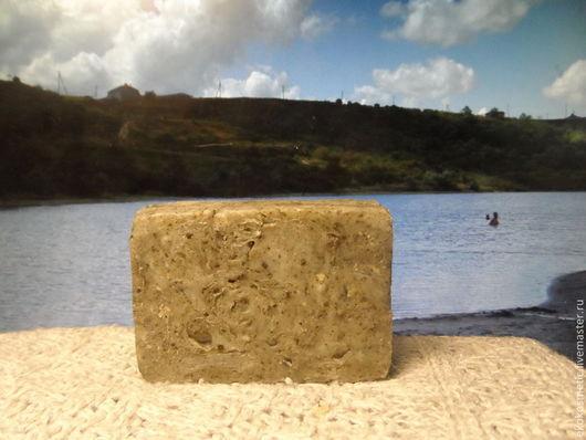 Мыло ручной работы. Ярмарка Мастеров - ручная работа. Купить Сульфидно-иловое грязевое мыло.С грязью реликтового Голубицкого озера. Handmade.
