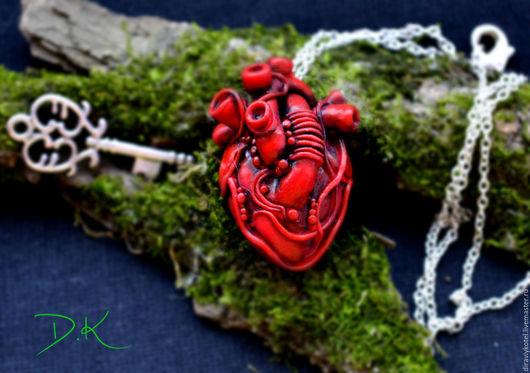 """Кулоны, подвески ручной работы. Ярмарка Мастеров - ручная работа. Купить Подвеска """" The mystery of the heart"""". Handmade."""