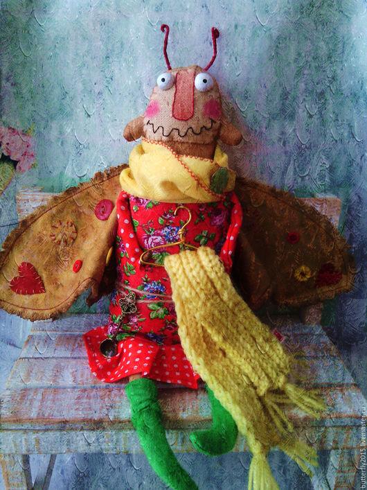 Ароматизированные куклы ручной работы. Ярмарка Мастеров - ручная работа. Купить кухонная Жрушка)). Handmade. Ярко-красный, примитивчик, корица