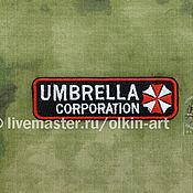 Субкультуры handmade. Livemaster - original item Badge umbrella Corporation (narrow). Handmade.