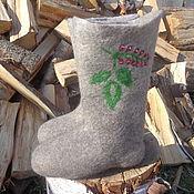 Обувь ручной работы. Ярмарка Мастеров - ручная работа Валенки  Красная смородина. Handmade.