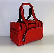 Сумки и аксессуары handmade. Livemaster - original item Bag leather travel 20. Handmade.