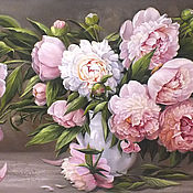 """Картины и панно ручной работы. Ярмарка Мастеров - ручная работа """"Весенние цветы """". Handmade."""