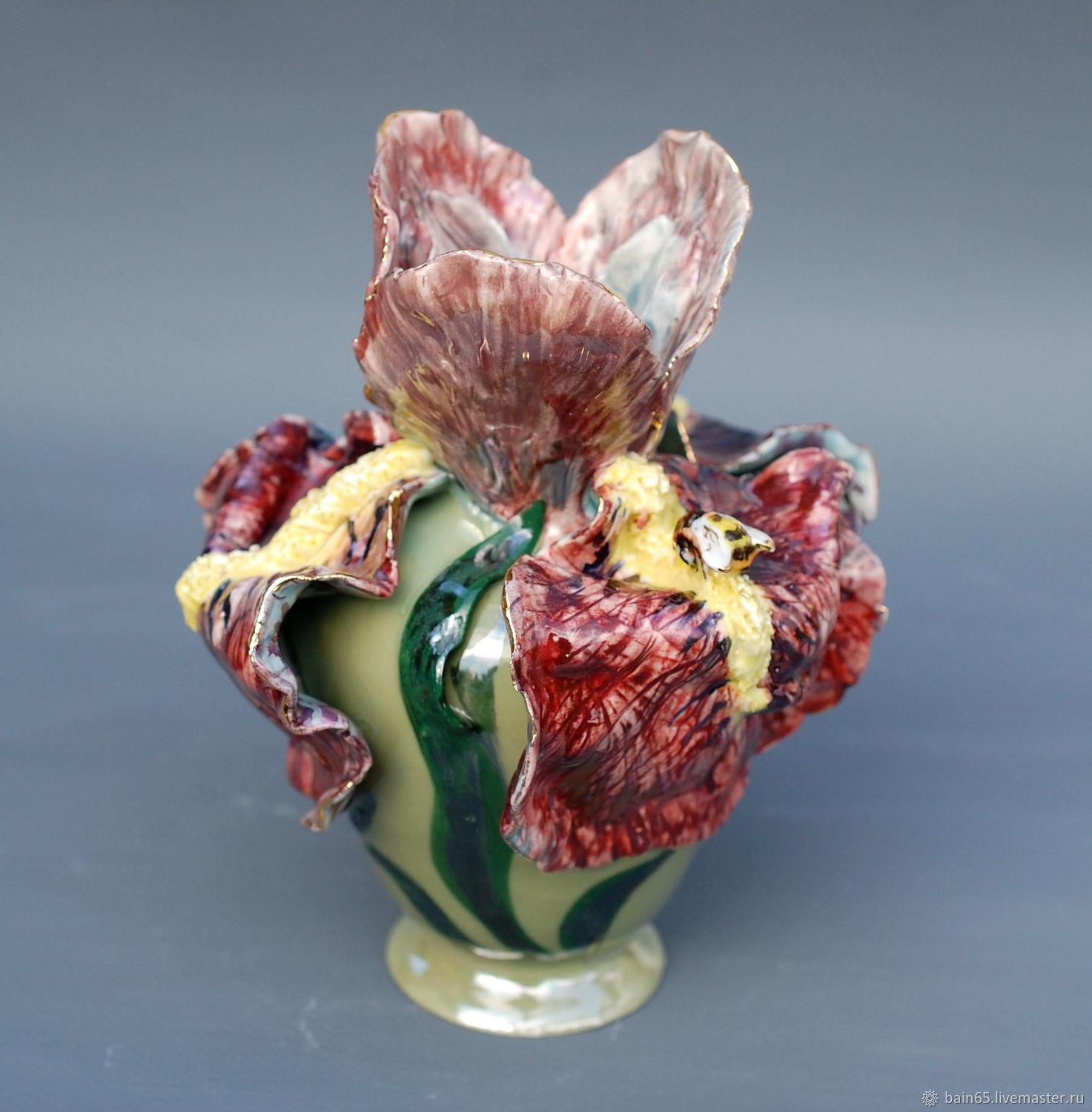 IRIS. Vase in the shape of a flower, Vases, Moscow,  Фото №1