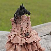 Куклы и игрушки handmade. Livemaster - original item Black horse amber. Handmade.