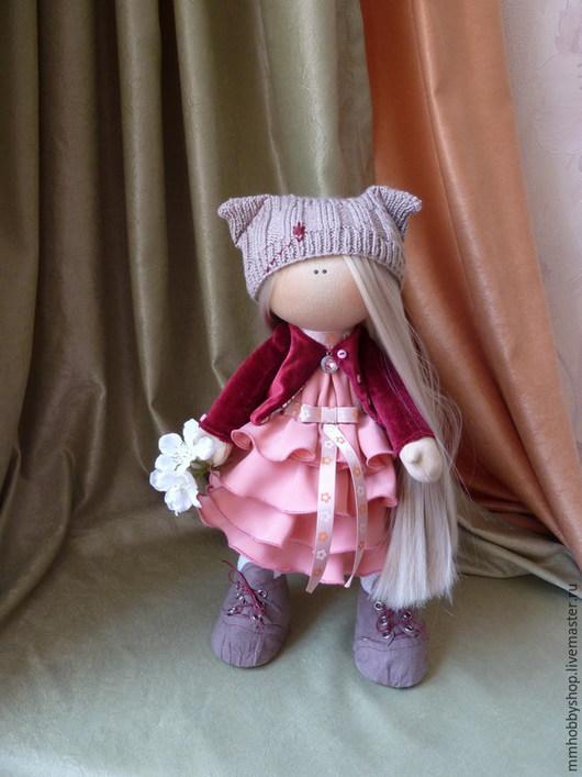 Коллекционные куклы ручной работы. Ярмарка Мастеров - ручная работа. Купить Интерьерная текстильная кукла. Handmade. Кукла, текстильная игрушка