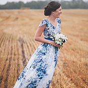 Свадебный салон ручной работы. Ярмарка Мастеров - ручная работа Моё шелковое свадебное платье. Handmade.