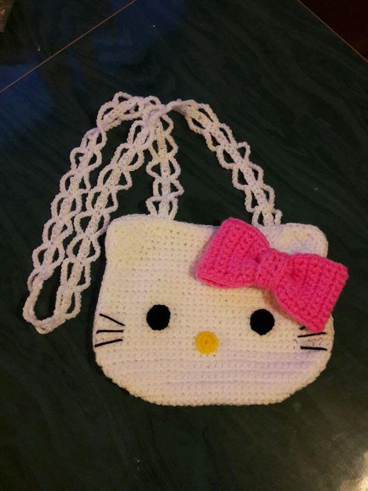 Детские аксессуары ручной работы. Ярмарка Мастеров - ручная работа. Купить Сумочка для девочки Hello Kitty. Handmade. Hello Kitty
