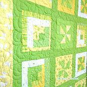 """Одеяла ручной работы. Ярмарка Мастеров - ручная работа Детское одеяло """"Вспоминая Лето"""". Handmade."""