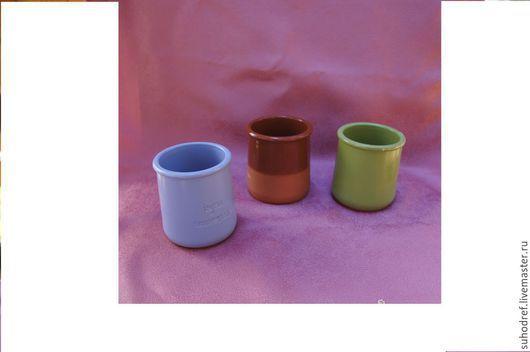 Другие виды рукоделия ручной работы. Ярмарка Мастеров - ручная работа. Купить Горшочки для топиариев. Handmade. Разноцветный, синий, зеленый
