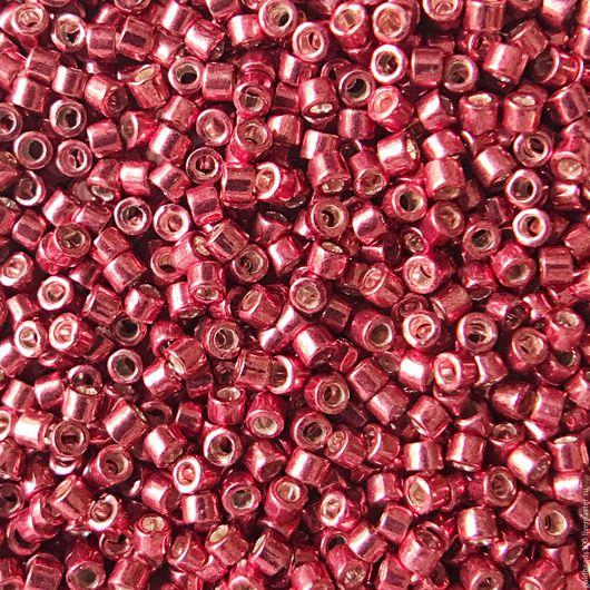 Для украшений ручной работы. Ярмарка Мастеров - ручная работа. Купить 10 ГР DELICA MIYUKI 11/0 DB428 galvanized strawberry. Handmade.