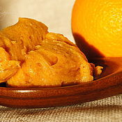 Косметика ручной работы. Ярмарка Мастеров - ручная работа Куркума-Апельсин. Натуральное крем-мыло. Handmade.