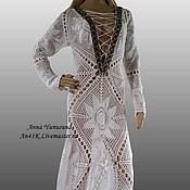 Одежда ручной работы. Ярмарка Мастеров - ручная работа Платье длинное в пол. Handmade.