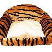 Для домашних животных, ручной работы. Ярмарка Мастеров - ручная работа Диван, лежанка, лежак для маленькой собаки №25. Handmade.