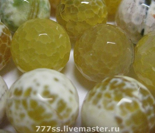 Для украшений ручной работы. Ярмарка Мастеров - ручная работа. Купить Лимонный мармелад ( ассортимент). Handmade. Агат, бусы