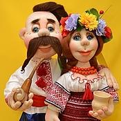 Куклы и игрушки handmade. Livemaster - original item Dolls in Ukrainian style. Sculptural textiles.. Handmade.