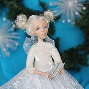 """Куклы и игрушки ручной работы. Ярмарка Мастеров - ручная работа Интерьерная кукла """"Зима"""". Handmade."""