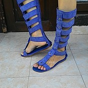 Обувь ручной работы. Ярмарка Мастеров - ручная работа Сандали гладиаторы. РАСПРОДАЖА. Handmade.