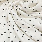 Материалы для творчества handmade. Livemaster - original item Fabric: Viscose - black-eyed peas milk. Handmade.
