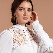 Одежда ручной работы. Ярмарка Мастеров - ручная работа Блуза. Handmade.