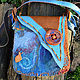 Женские сумки ручной работы. Ярмарка Мастеров - ручная работа. Купить Сумка Xaymaca (Хаймака). Handmade. Ямайка, деревянные пуговицы