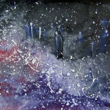 Картины и панно ручной работы. Ярмарка Мастеров - ручная работа Заблудшие. Абстракция.. Handmade.