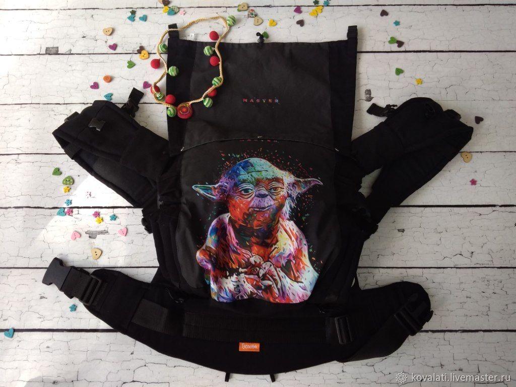 Эргорюкзак для ношения ребенка с 4 мес до 3 лет. Дизайн Йода, Слинги, Астрахань,  Фото №1