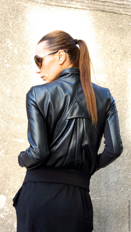 Дорогая женская одежда из натуральной кожи