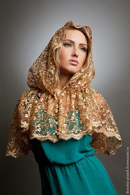 платок для храма фото